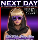FANCY DRESS ~ OFFICIAL LADY GAGA PURPLE GLASSES